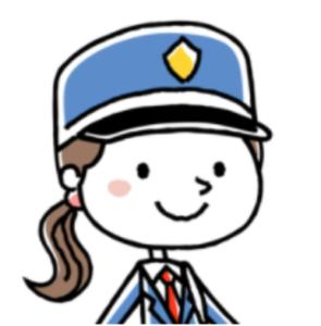 女性の警備員