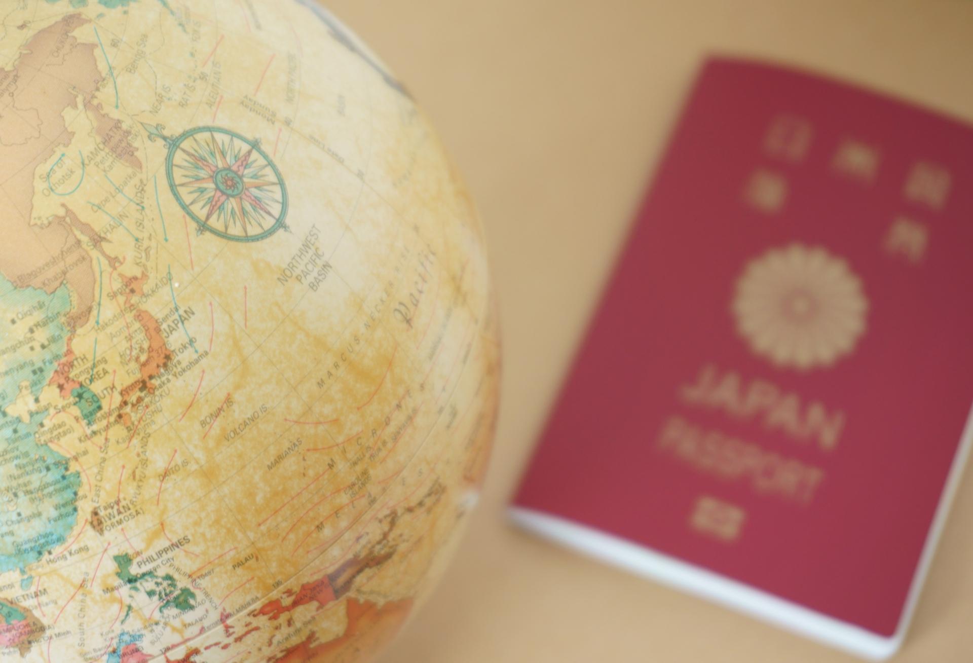旅行や出張シーン